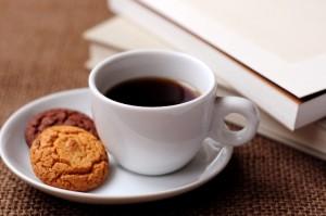4、コーヒーと本