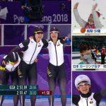 平昌冬季オリンピック、感動しました!